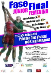 FASE FINAL JUNIOR FEMENINA. DOS HERMANAS 2019