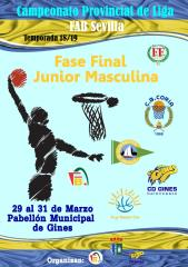 FASE  FINAL JUNIOR MASCULINA. GINES 2019