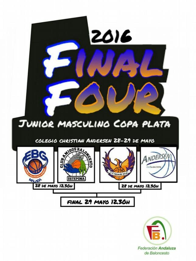 Cartel F4 Junior Masculino Plata